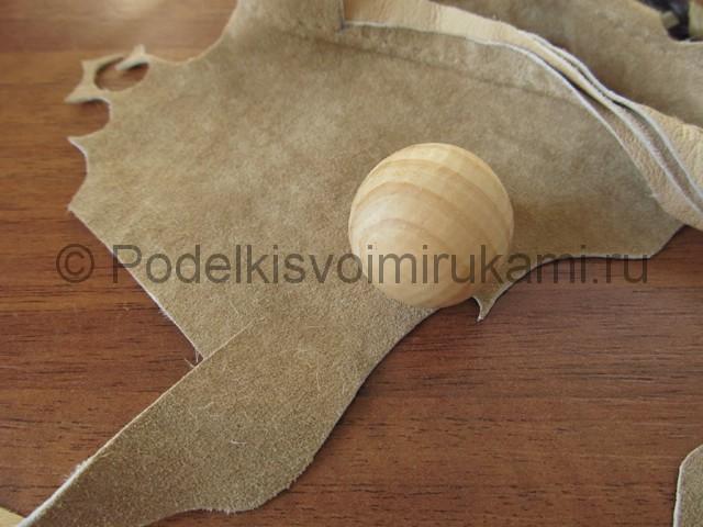 Оригинальное украшение-полоска для волос своими руками. Фото 2.