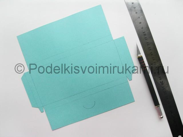 Подарочный конверт на день рождения своими руками. Фото 3.