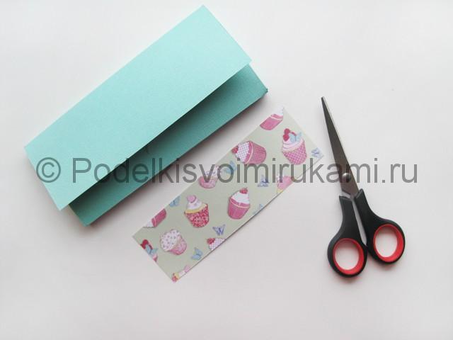Подарочный конверт на день рождения своими руками. Фото 6.