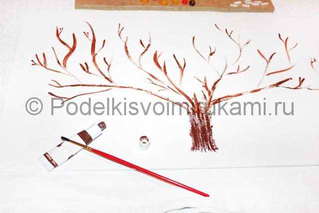 Изготовление декоративного панно из бросового материала. Фото 2.