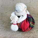 Как сделать куклу-оберег своими руками. Итоговый вид поделки.