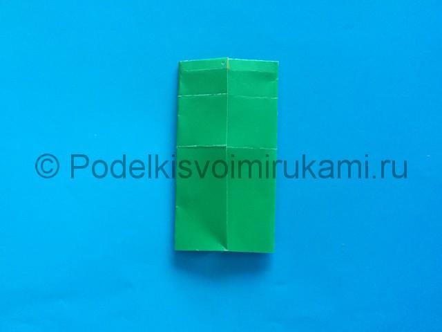 Карандаш из бумаги своими руками в технике оригами. Шаг №10.