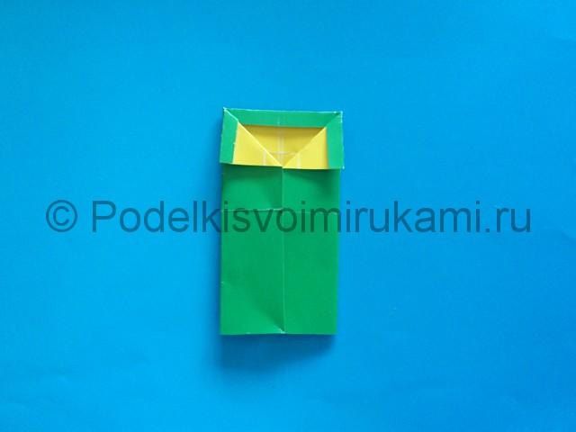 Карандаш из бумаги своими руками в технике оригами. Шаг №11.