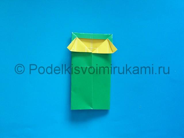 Карандаш из бумаги своими руками в технике оригами. Шаг №12.