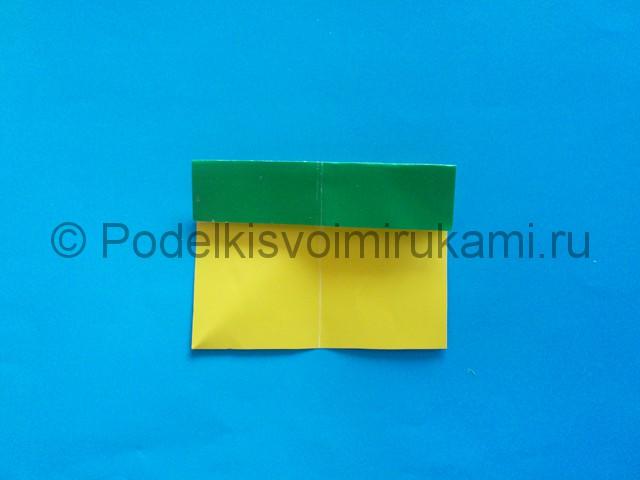 Карандаш из бумаги своими руками в технике оригами. Шаг №6.