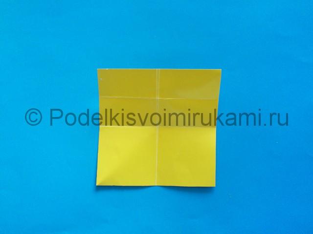 Карандаш из бумаги своими руками в технике оригами. Шаг №7.