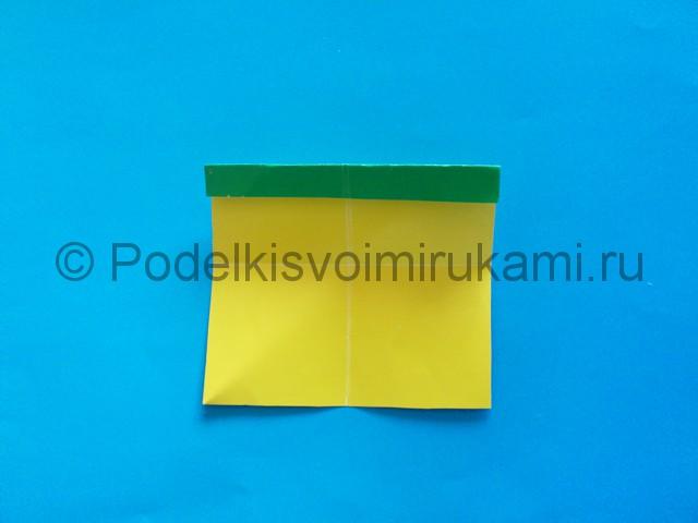 Карандаш из бумаги своими руками в технике оригами. Шаг №8.