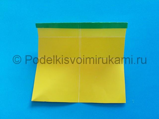 Карандаш из бумаги своими руками в технике оригами. Шаг №9.
