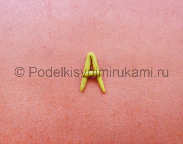 Азбука из пластилина. Шаг №7.