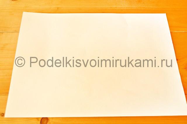 Подготовка листа.