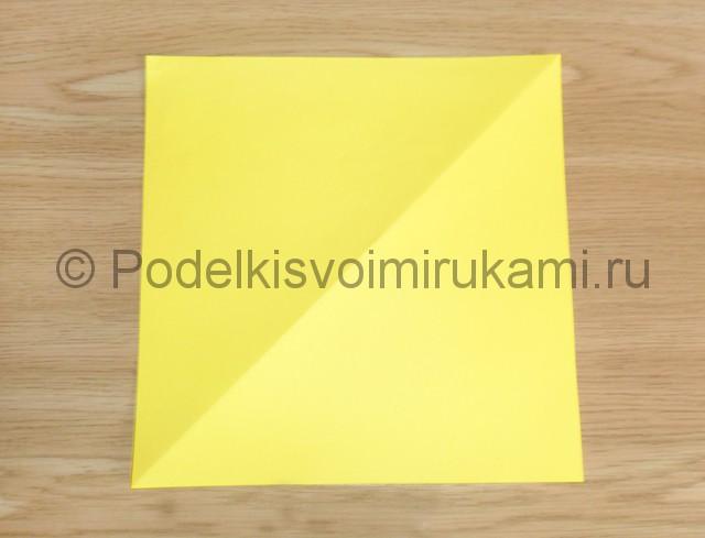 Как сделать белку из бумаги. Фото 1.