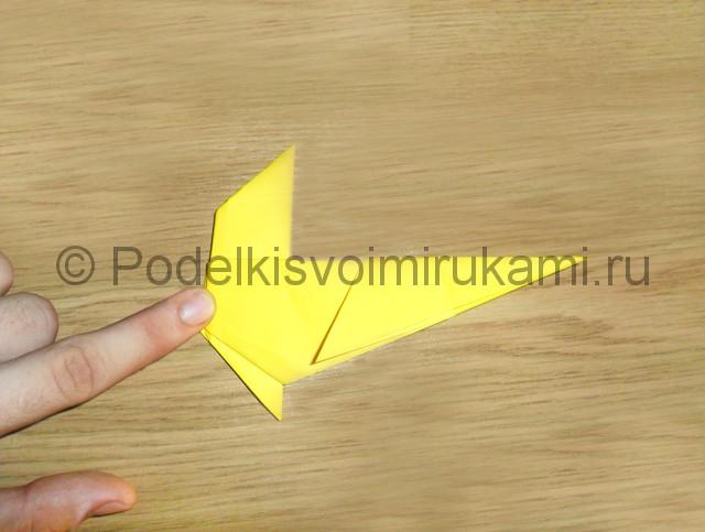Как сделать белку из бумаги. Фото 12.