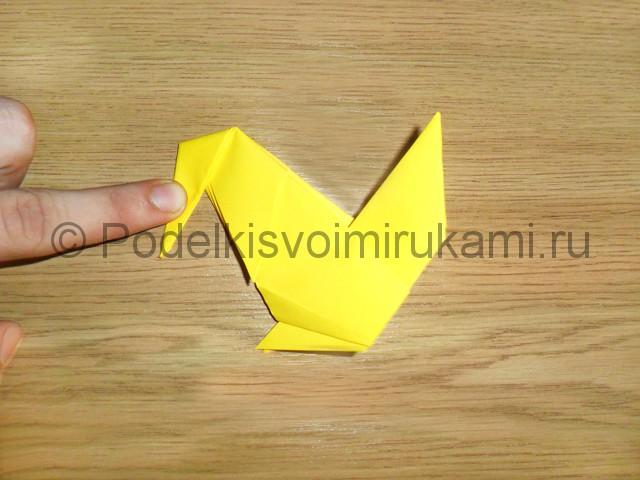 Как сделать белку из бумаги. Фото 13.