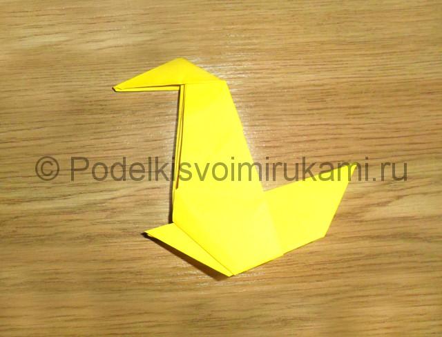 Как сделать белку из бумаги. Фото 14.