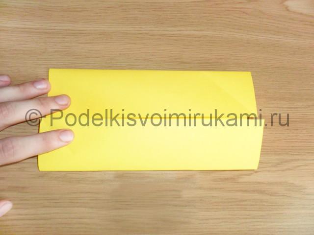 Как сделать белку из бумаги. Фото 3.