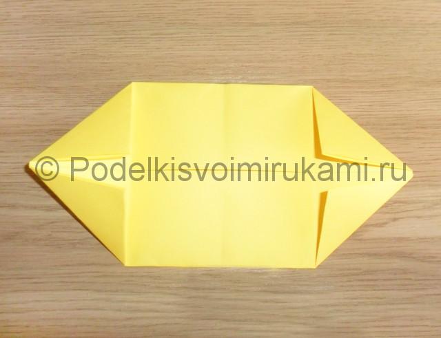 Как сделать белку из бумаги. Фото 5.
