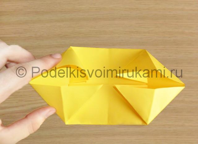 Как сделать белку из бумаги. Фото 6.