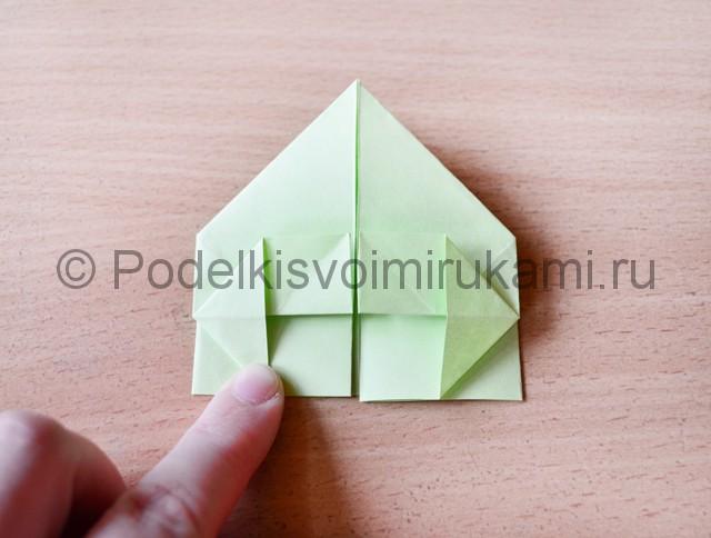 Как сделать фейерверк из бумаги. Фото 17.