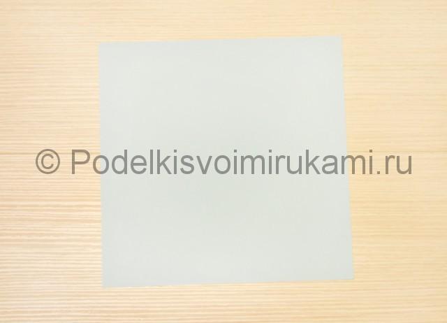 Как сделать голубя из бумаги своими руками поэтапно. Фото 1.
