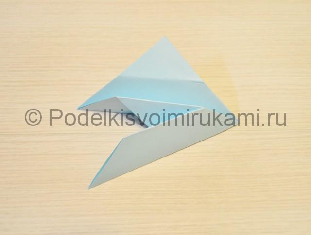 Как сделать голубя из бумаги своими руками поэтапно. Фото 10.