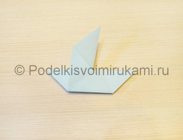 Как сделать голубя из бумаги своими руками поэтапно. Фото 12.