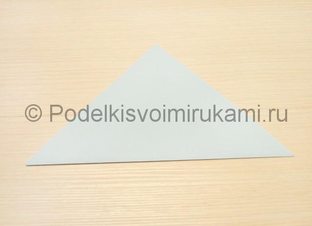 Как сделать голубя из бумаги своими руками поэтапно. Фото 2.
