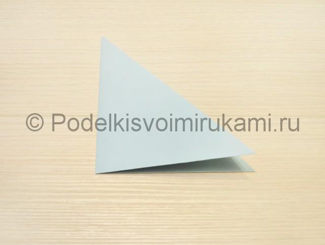 Как сделать голубя из бумаги своими руками поэтапно. Фото 3.