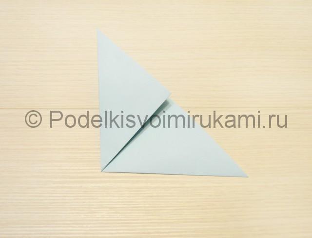 Как сделать голубя из бумаги своими руками поэтапно. Фото 4.