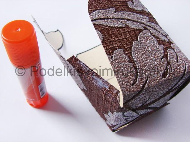 Изготовление коробочки из бумаги своими руками - фото 10.