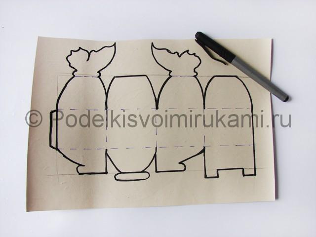 Изготовление коробочки из бумаги своими руками - фото 2.