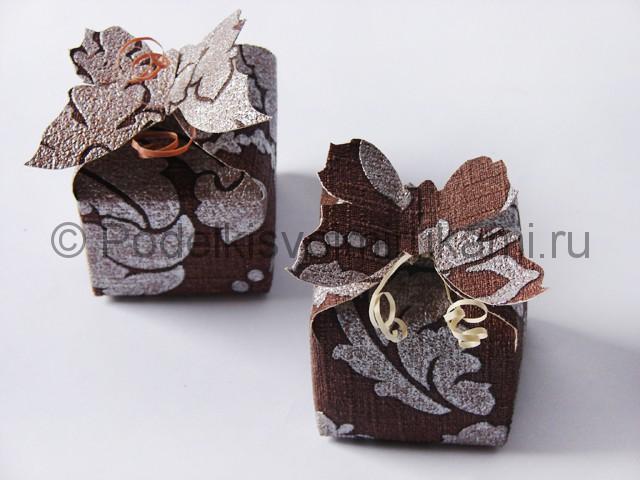 Изготовление коробочки из бумаги своими руками - фото 24.