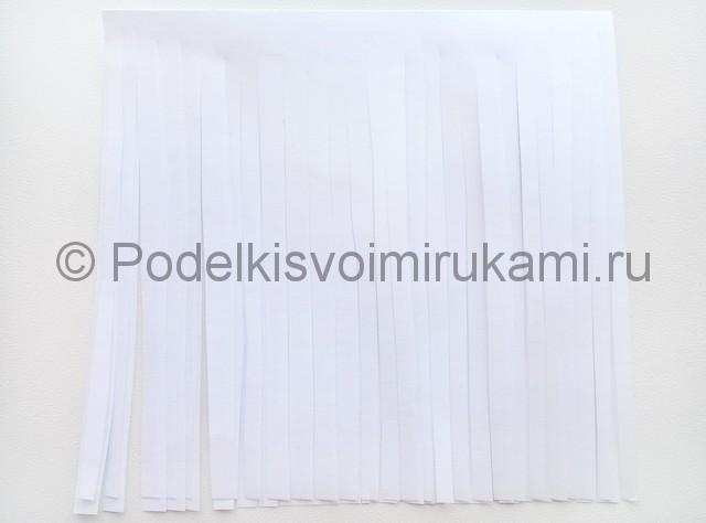 Как сделать куклу из бумаги. Фото 20.
