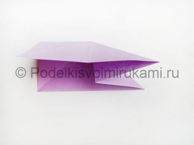 Как сделать пирамиду из бумаги. Фото 11.