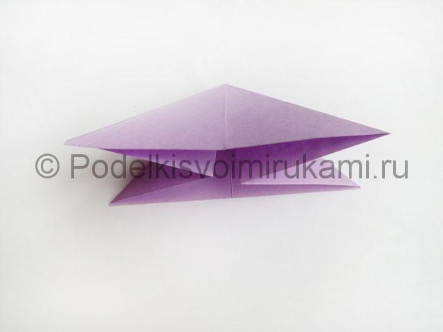 Как сделать пирамиду из бумаги. Фото 12.