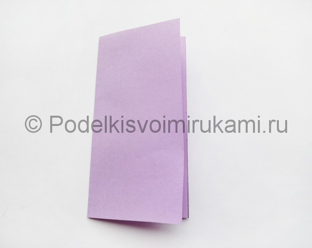 Как сделать пирамиду из бумаги. Фото 2.