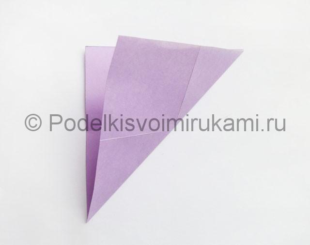 Как сделать пирамиду из бумаги. Фото 6.