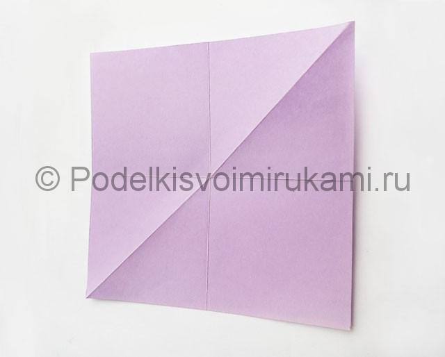 Как сделать пирамиду из бумаги. Фото 7.