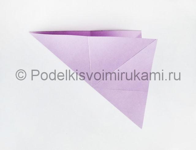 Как сделать пирамиду из бумаги. Фото 8.