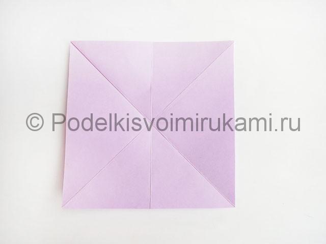 Как сделать пирамиду из бумаги. Фото 9.