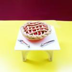 Как сделать пирог из пластилина. Итоговый вид поделки.