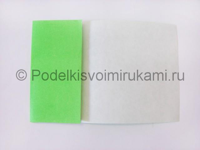 Как сделать прыгающую лягушку из бумаги. Фото 3.