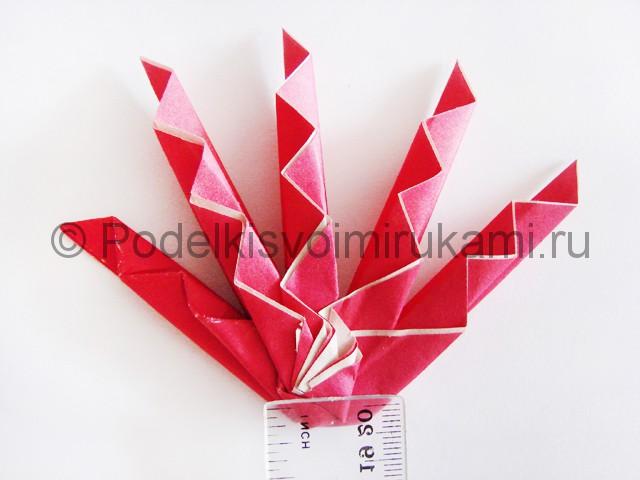 Изготовление руки из бумаги - фото 17.