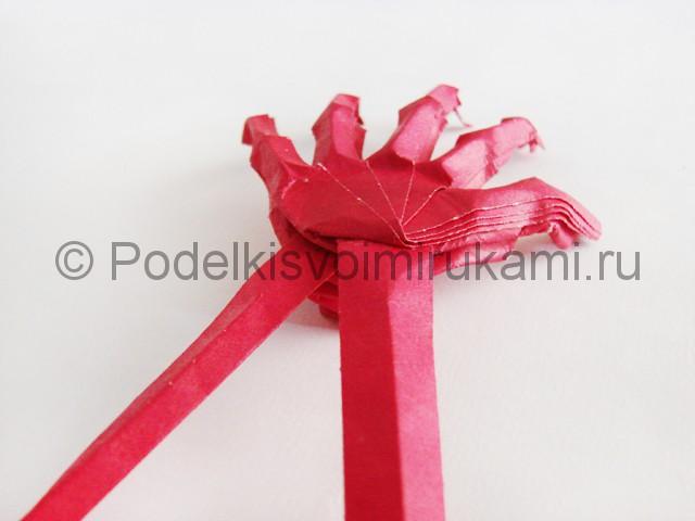 Изготовление руки из бумаги - фото 31.