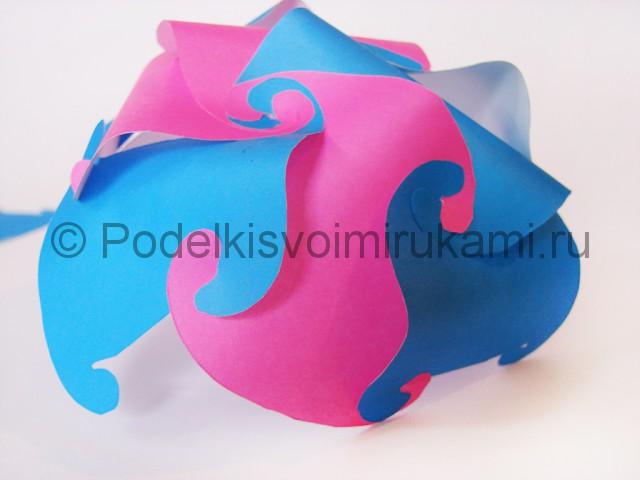 Как сделать шар из бумаги своими руками. Фото 12.