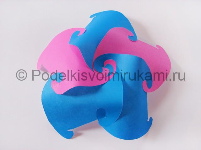 Как сделать шар из бумаги своими руками. Фото 7.