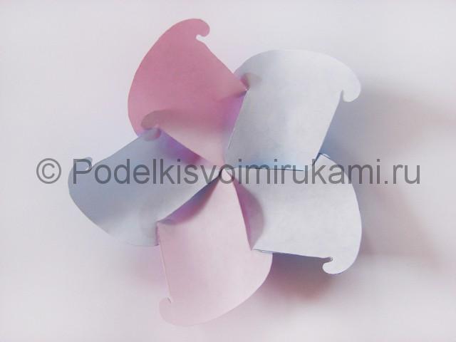 Как сделать шар из бумаги своими руками. Фото 8.