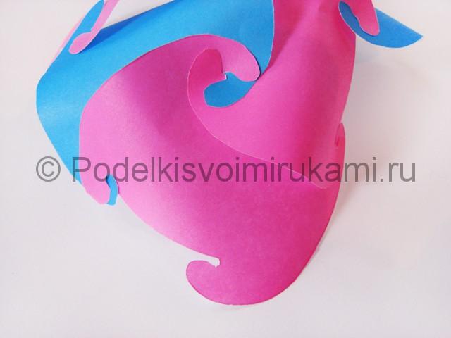 Как сделать шар из бумаги своими руками. Фото 9.