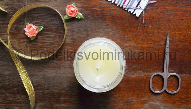 Как сделать свечу своими руками в домашних условиях. Фото 10.
