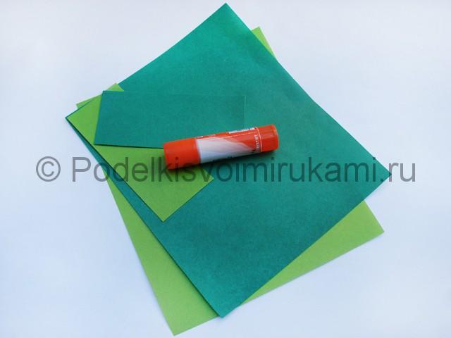 Как сделать танк из бумаги своими руками. Фото 1.