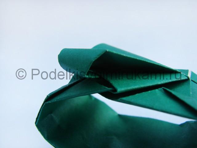 Как сделать танк из бумаги своими руками. Фото 19.